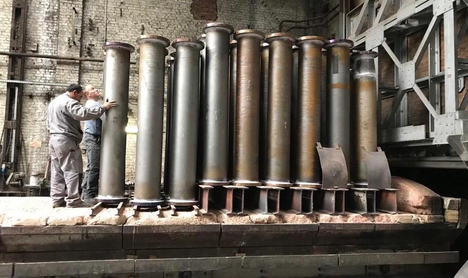 procédé de métallisation dans les ateliers Cobevri